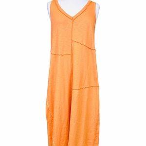 J. JILL 100% Cotton Patchwork Dress in Tan…